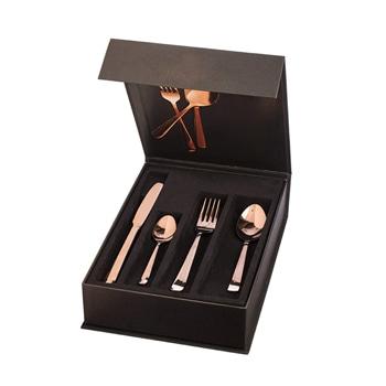 مجموعة أنيقة مكونة من ملاعق و شوكة مع سكين