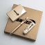 Corporate Card Holder & Pen Gift Set with USB Flash Drive Image 1