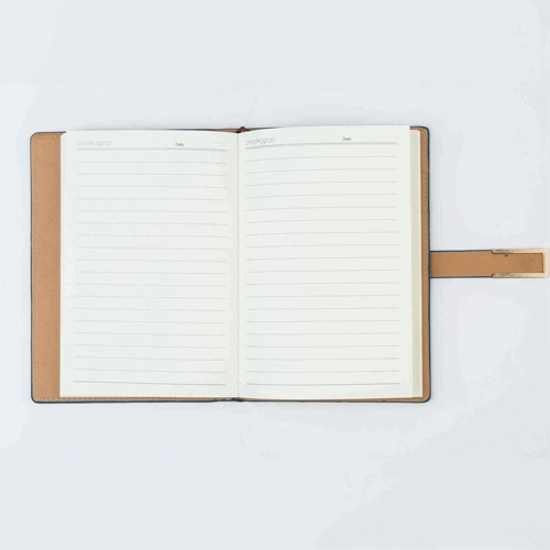 Hard Cover PU Leather Notebook Set with Pen Image 2