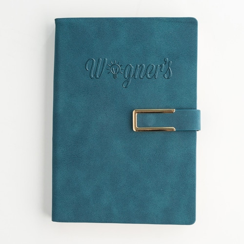 Hard Cover PU Leather Notebook Set with Pen Image 3