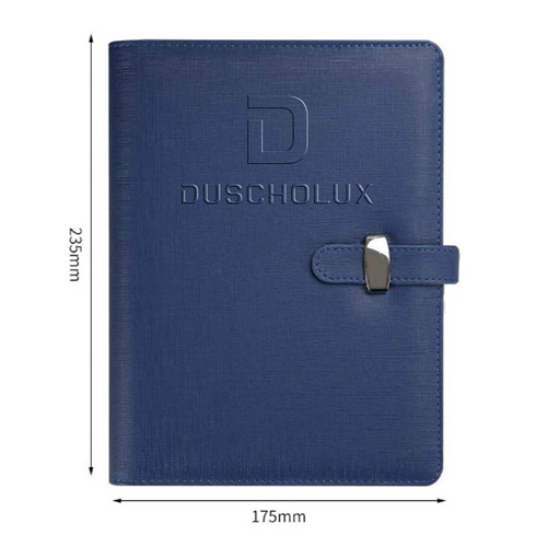Promotional Executive Pen & PU Leather Planner Diary with Buckle Closure Image 4