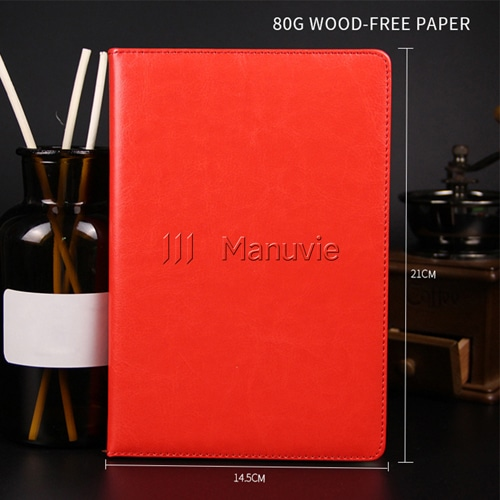 A5 Size PU Leather Diary & Pen Set with Vaccum Bottle Image 3