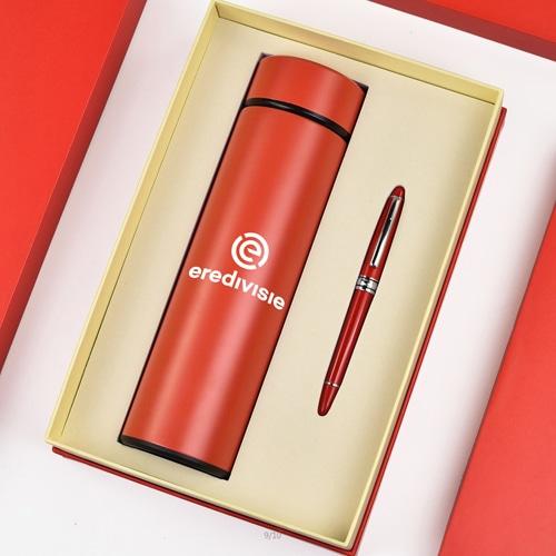 Executive Stylish Pen & Thermos Bottle Gift Set Image 1