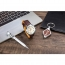 Custom Watch & Pen Mens Gift Set with Metal Keychain Image 1