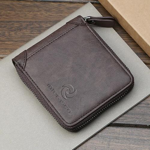 Mens Zipper Wallet & Wrist Watch Gift Set Image 5