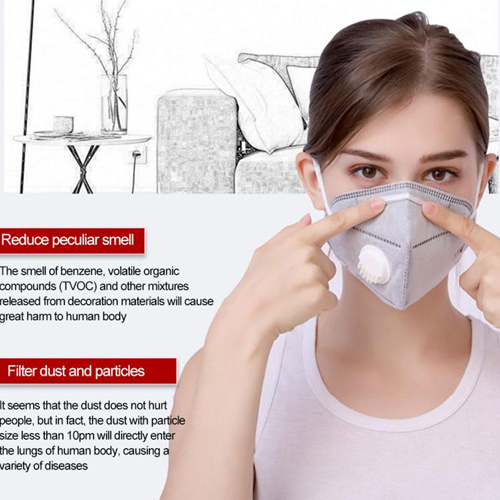 KN95 Reusable Air Pollution Face Mask Image 2