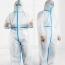 Disposable Coverall Medical Hazmat Suit