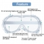 Protective Safety Goggles Image 4