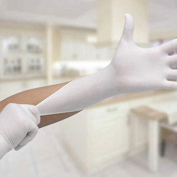 Disposable Non-allergenic Nitrile Gloves (100 Per Box)