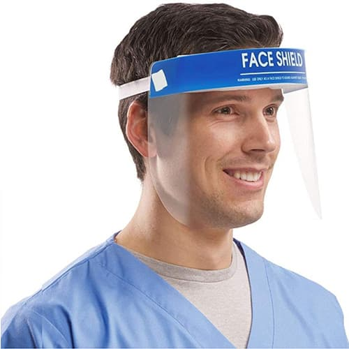 FDA Certified Transparent Face Safety Shield