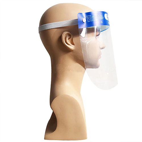 FDA Certified Transparent Face Safety Shield Image 3