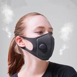 قناع وجه يغطي الفم بالكامل مضاد للغبار قابل لإعادة الاستخدام