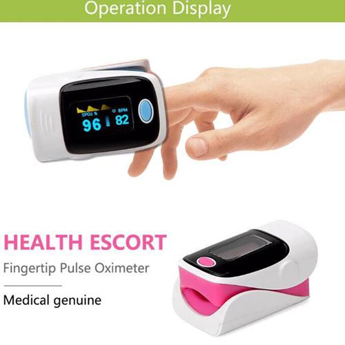 Digital Fingertip pulse Oximeter Image 2