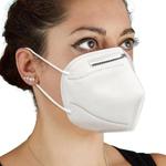 قناع وجه للحماية مضاد للحساسية من 4 طبقات للإستعمال لمرة واحدة