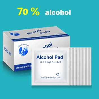 Disposable Alcohol Wet Wipes