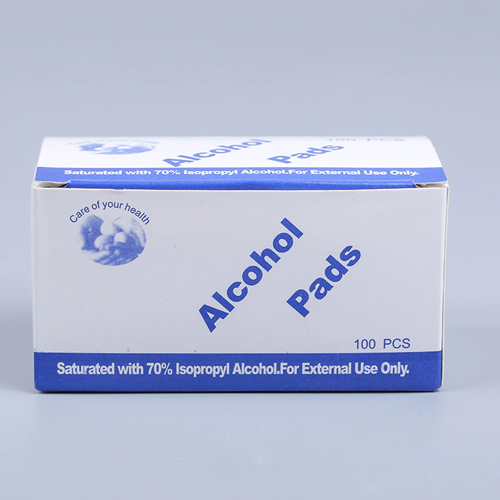 Disposable Alcohol Wet Wipes (100 Per Box) Image 2