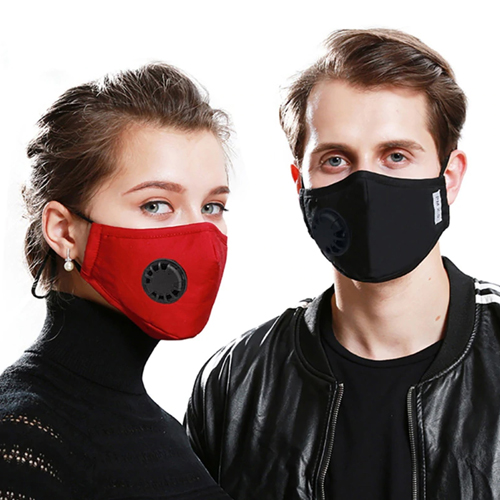 Respirator Mask with Breath Valve