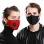 Respirator Mask with Breath Valve