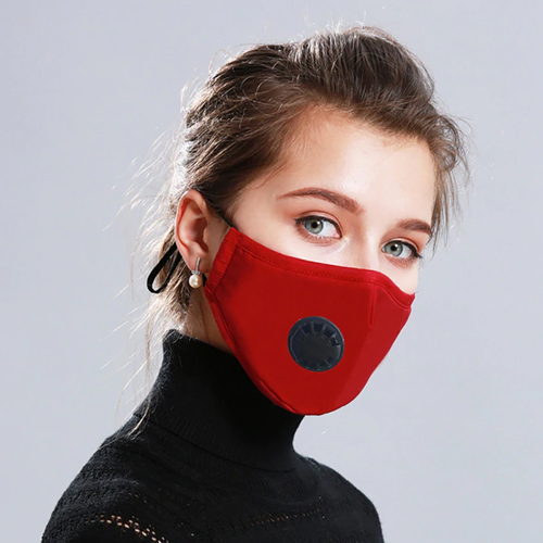 Respirator Mask with Breath Valve Image 2
