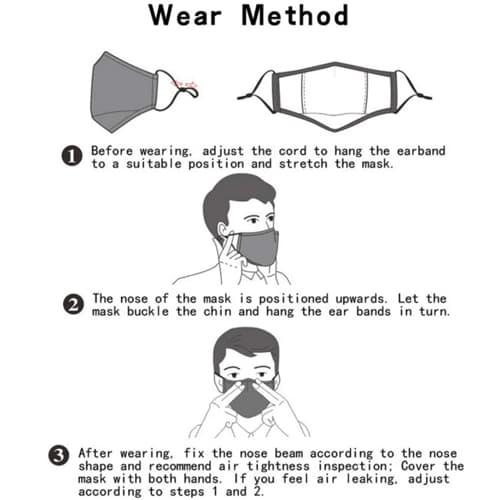 Anti-Dust Face Mask For Children Image 9