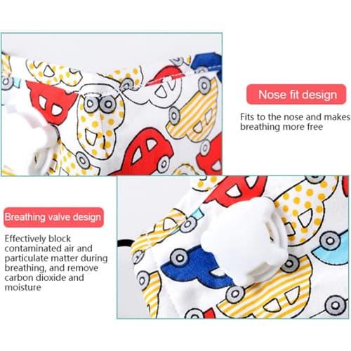 Anti-Dust Face Mask For Children Image 3