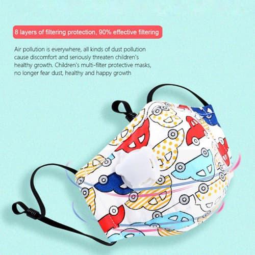 Anti-Dust Face Mask For Children Image 4