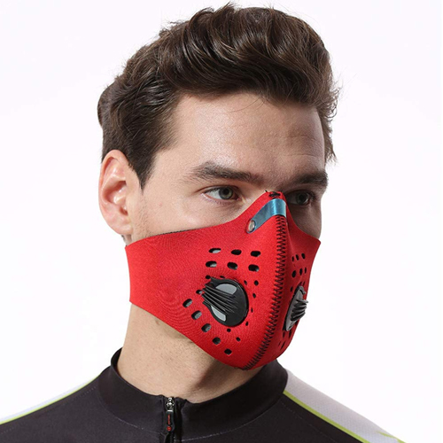 Reusable Activated Carbon Anti Air Pollution Sports Face Mạsk