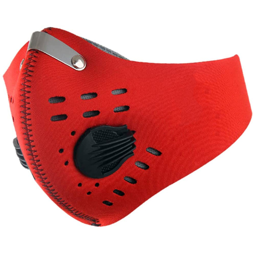 Reusable Activated Carbon Anti Air Pollution Sports Face Mạsk Image 1