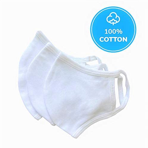 Reusable Face Covering Cotton Face Mask Image 1