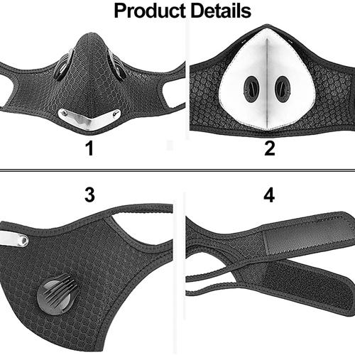 Adjustable Sports Face Mask Image 2