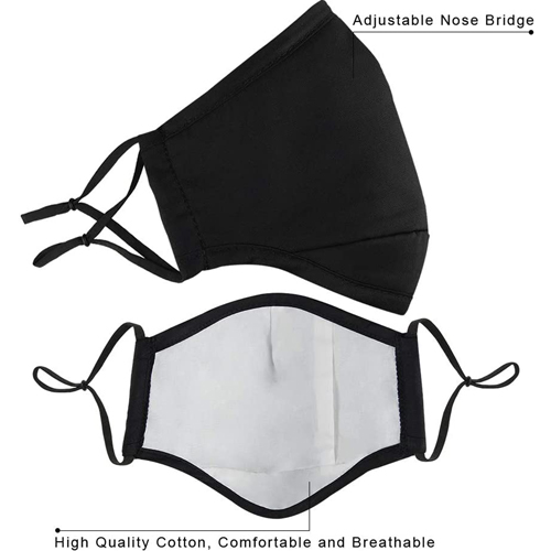 Activated Carbon Washable Face Mask Image 1