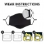 Activated Carbon Washable Face Mask Image 4