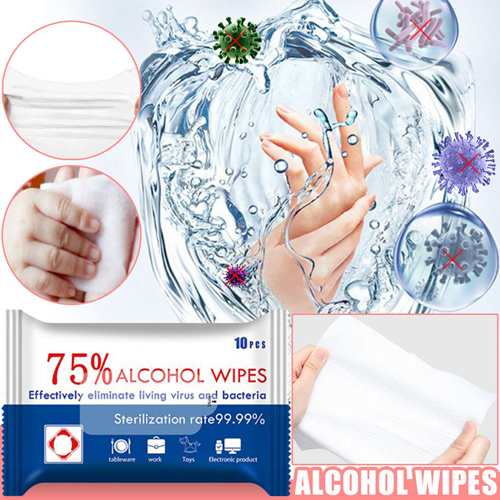 Non-woven Portable Wipes Pad Image 2