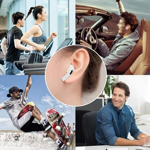 Custom Wireless Noise Cancelling Built in Mic Earbuds with Charging Case Image 6