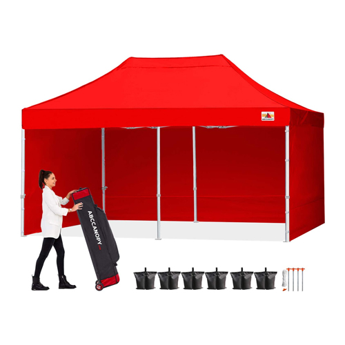 Promotional Commercial Canopy Tent with Side Walls