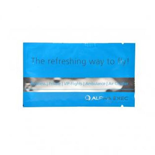 Promotional Silver Aluminium Sachets Wet Wipes Image 3