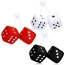Hanging Square Car Dice with Suction Cup