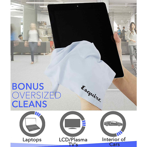 Premium Ultra Fine Microfiber Cleaning Cloths Image 1