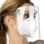 Face Shields Set with Replaceable Anti Fog Shields Image 4