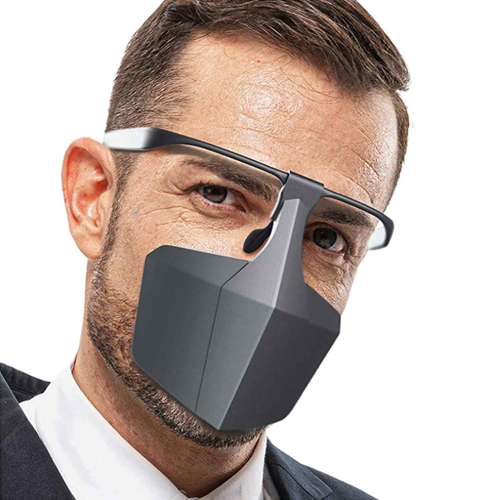 Custom Plastic Protective Mask