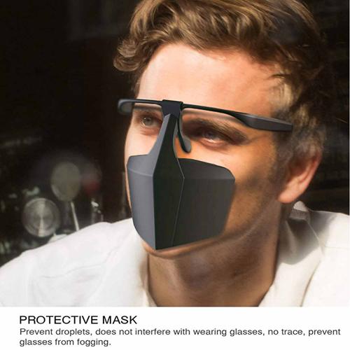 Custom Plastic Protective Mask Image 2