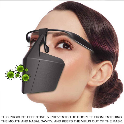 Custom Plastic Protective Mask Image 4