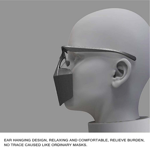 Custom Plastic Protective Mask Image 5