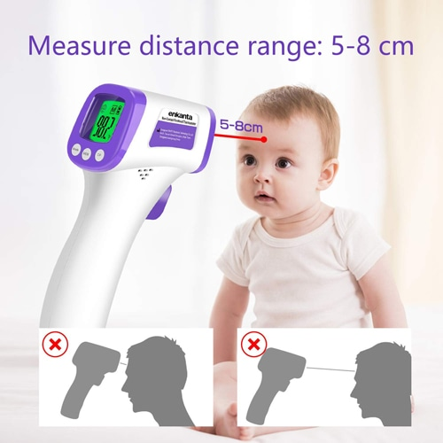 3 in 1 Digital Display Forehead Infrared Thermometer Image 5