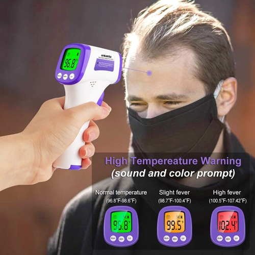 3 in 1 Digital Display Forehead Infrared Thermometer Image 6