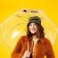 Personalized Clear Bubble Umbrella Image 5
