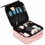 Travel Cosmetic Bag with Adjustable Dividers
