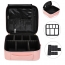 Travel Cosmetic Bag with Adjustable Dividers Image 1