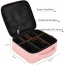Travel Cosmetic Bag with Adjustable Dividers Image 4