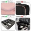 Travel Cosmetic Bag with Adjustable Dividers Image 6
